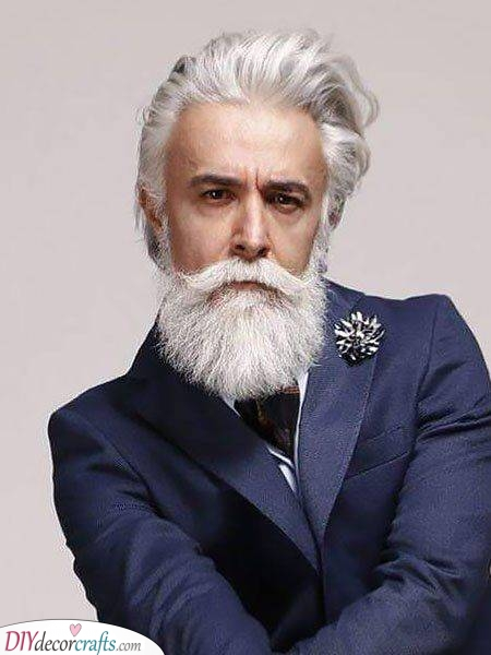 Eccentric and Stylish - Hairstyles for Men over 50