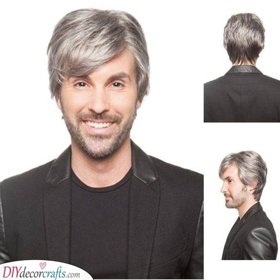 Add a Side Fringe - Haircuts for Men over 50