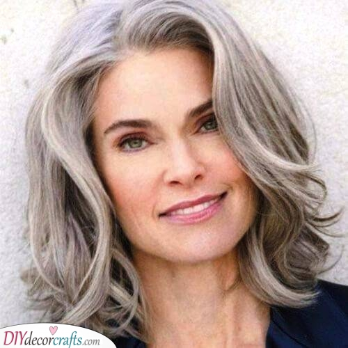 Soft Waves - Shoulder-length Haircut for Women Over 50