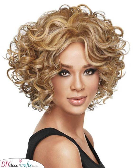 A Shorter Style - Medium Length Curly Hair