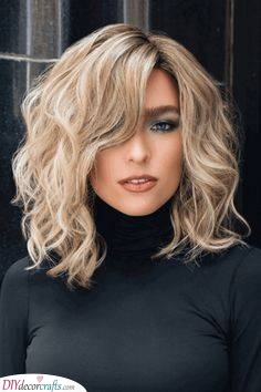 Loose Waves - Medium Length Haircuts for Curly Hair