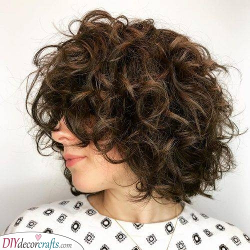 Short and Funky - A Crown of Curls