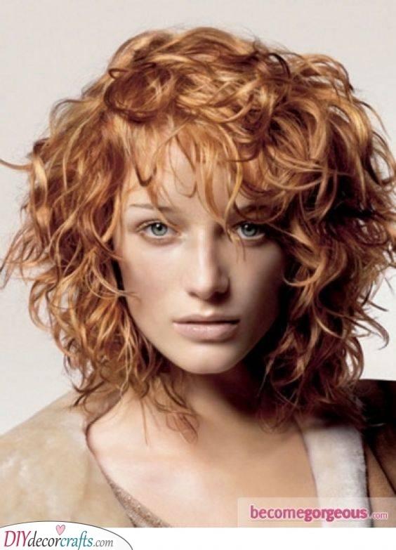 Adding Loads of Layers - Medium Length Curly Hair