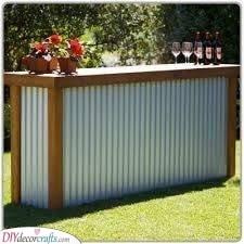 Use Corrugated Metal - A Rustic Design