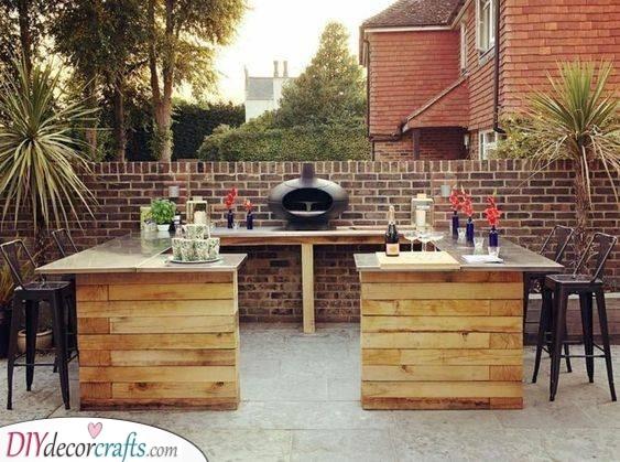 Add a Grill - Garden Pub Ideas