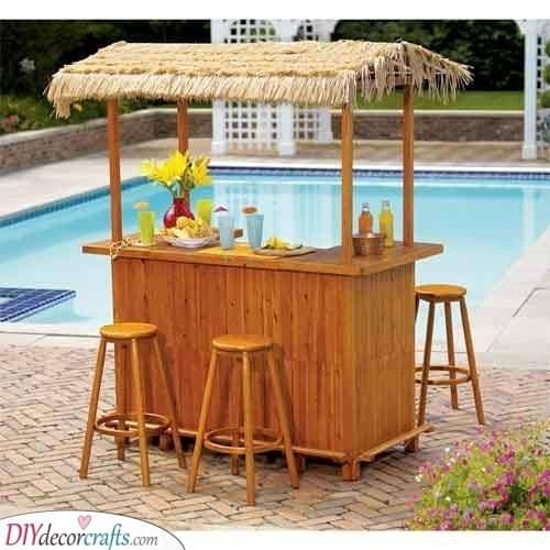 A Tiki Hut - Exotic and Fun