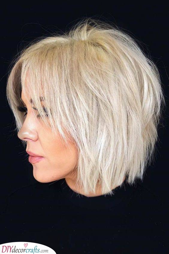 Shaggy Layers - For an Edgy and Flirty Look