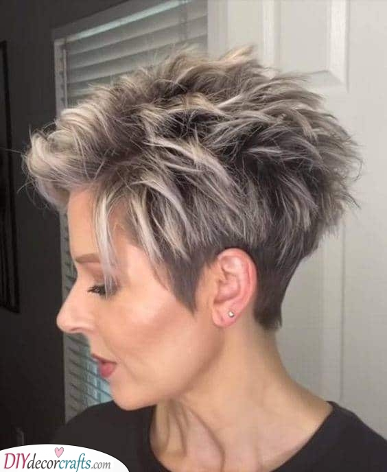 Highlight the Tips - For Extra Volume