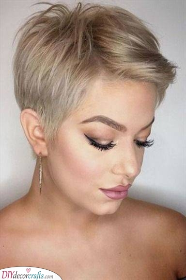 Flattering and Fun - Another Pixie Cut