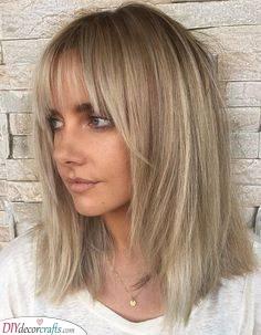 Simple and Cool - Medium Length Haircuts for Thin Hair
