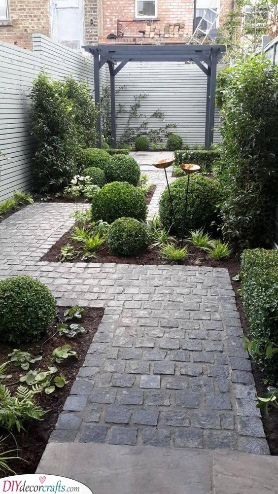 Build a Patio - Small Backyard Garden Ideas