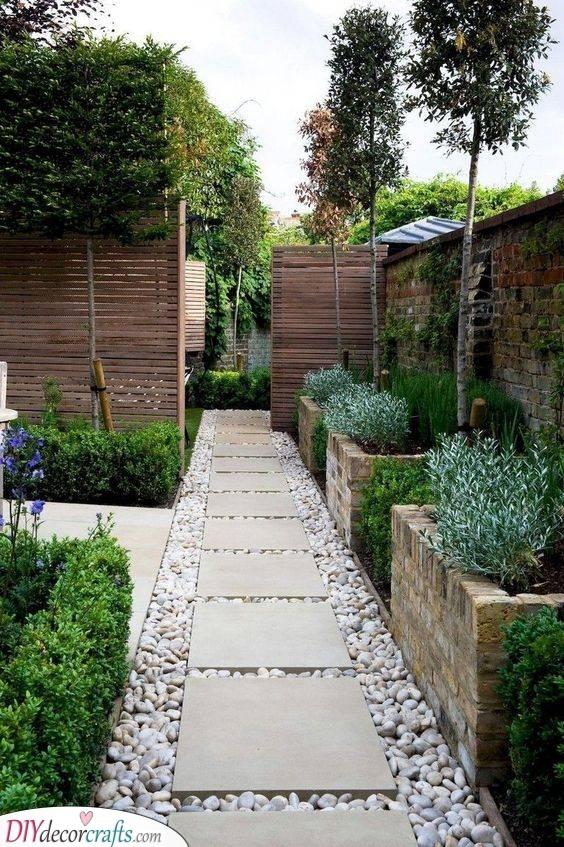 A Walk Around - Small Backyard Garden Ideas