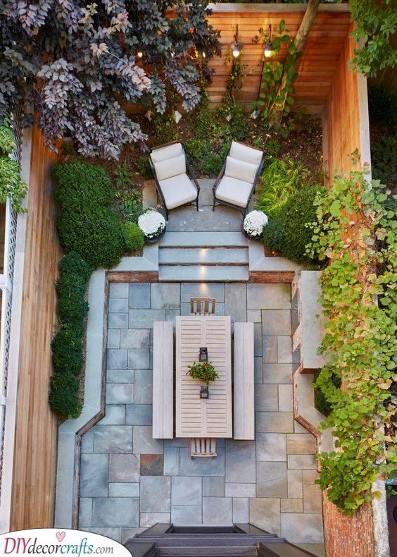Cute and Easy - Small Patio Garden Ideas