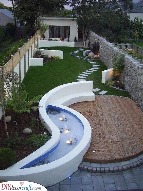 A Unique Design - Small Backyard Garden Ideas