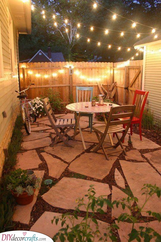 A Cosy Vibe - Small Garden Ideas on a Budget