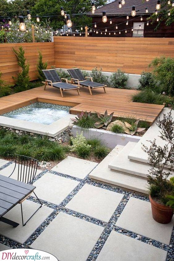 A Place for Relaxation - Small Garden Ideas on a Budget