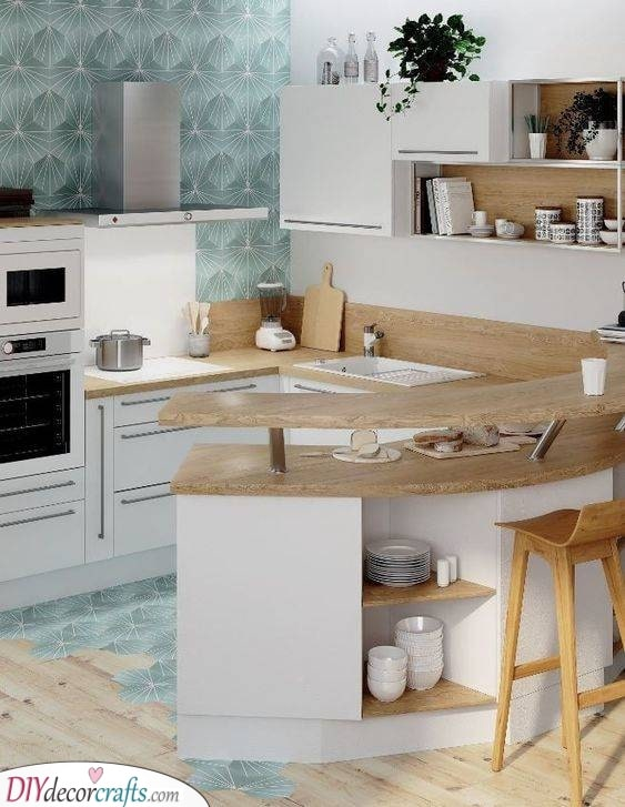 Counter or Table? - Kitchen Ideas for Small Spaces