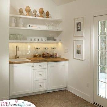 A Stylish Look - Small Kitchen Cabinet Ideas