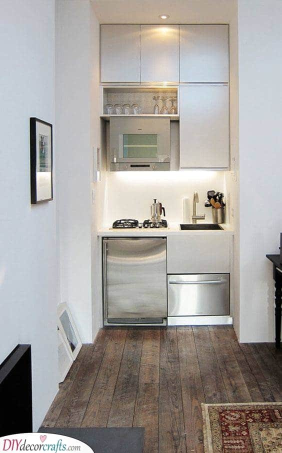 Simple and Small - Kitchen Ideas for Small Spaces