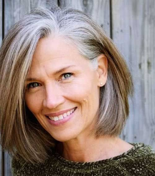 Medium Length Hairstyles - For Women Over Fifty